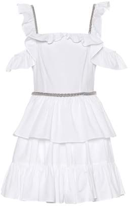 Christopher Kane Cotton poplin minidress