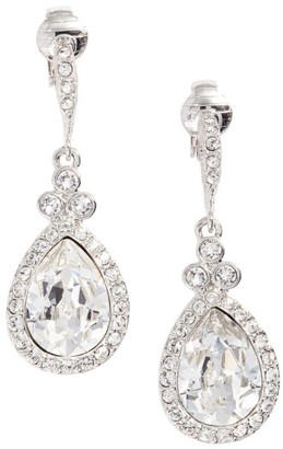 Women's Givenchy Pear Crystal Drop Earrings $45 thestylecure.com