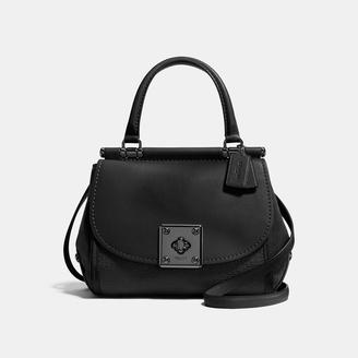 COACH Coach Drifter Top Handle In Mixed Leathers $495 thestylecure.com