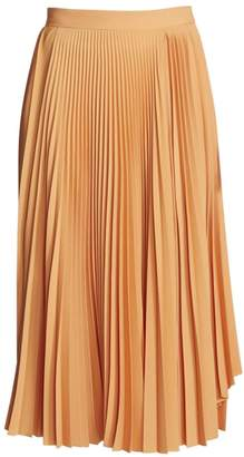 Acne Studios Ilky Pleated Midi Skirt