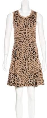 Skaist-Taylor Sleeveless Intarsia Dress
