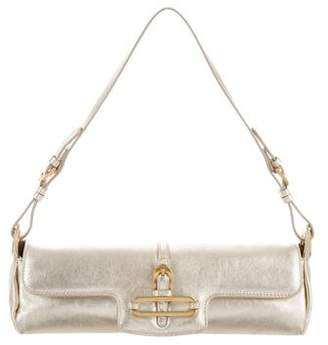Jimmy Choo Metallic Leather Tulita Bag
