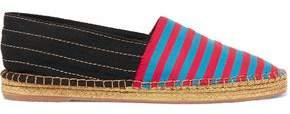 Marc Jacobs Sienna Striped Canvas Espadrilles