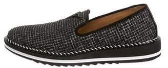 Giuseppe Zanotti Tim Leather Sneakers w/ Tags
