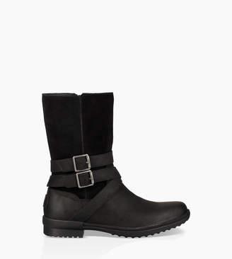 4543bca50b8 UGG Black Soft Leather Boots For Women - ShopStyle UK