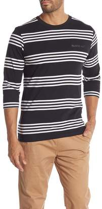 Cotton On & Co. Stripe 3\u002F4 Length Sleeve Tee