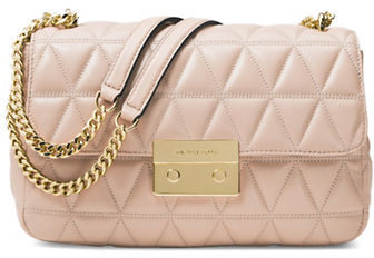 MICHAEL Michael Kors Michael Kors Quilted Leather Shoulder Bag