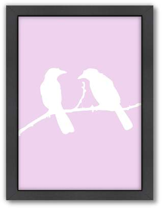 Americanflat Bird Framed Wall Art