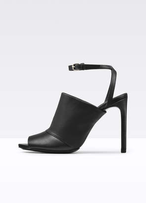 Grace Leather Sandal With Ankle Strap