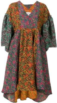 Henrik Vibskov floral patchwork dress