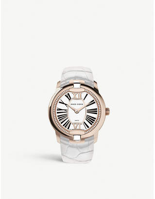Roger Dubuis RDDBVE0069 Velvet diamon, 18ct rose gold and leather watch