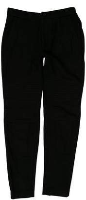 Givenchy Wool Blend Moto Pants