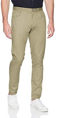 Calvin Klein Men's 5 Pocket Pant Micro Herringbone