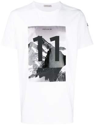 Moncler 11 graphic print T-shirt