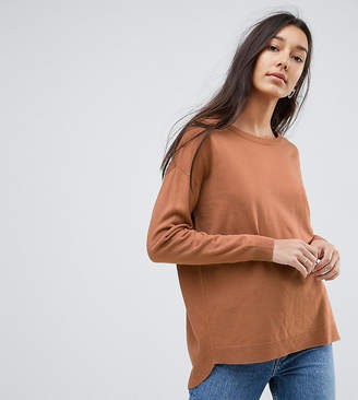 Brave Soul Tall Rony Dip Back Sweater
