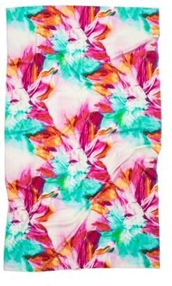 Natori Floral Beach Towel