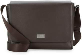 Armani Collezioni Leather Satchel Bag