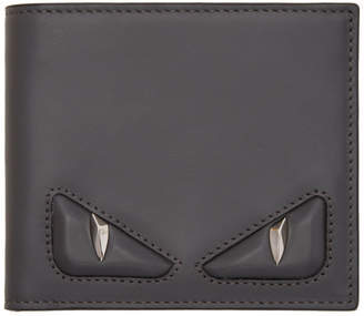 Fendi Grey 3D Bag Bugs Wallet
