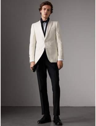 Burberry Slim Fit Silk Evening Jacket