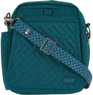 Lug RFID Convertible Crossbody Bag w/ Bonus Strap - Flapper