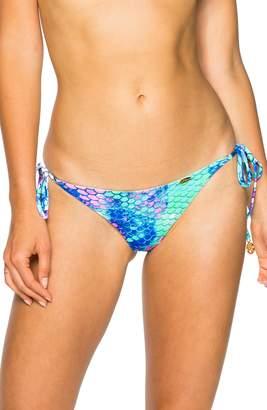 Luli Fama Reversible Brazilian Side Tie Bikini Bottoms