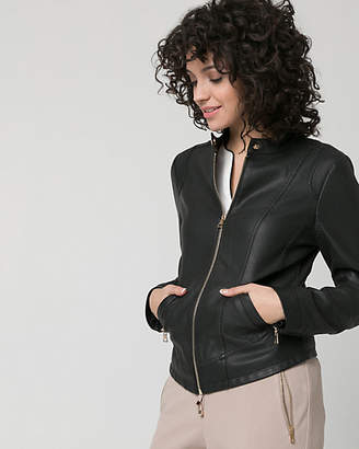 Le Château Faux Leather Motorcycle Jacket