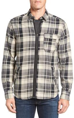 Jeremiah Fargo Zip Flannel Shirt Jacket