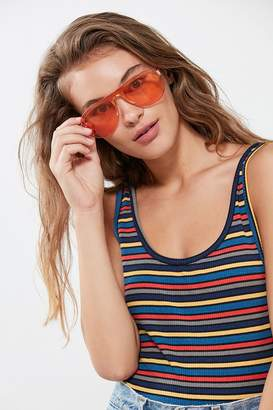 Urban Outfitters Sunshine State Shield Sunglasses
