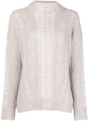 Lorena Antoniazzi chunky knit jumper
