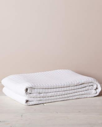 Elite White Cotton Thermal Blanket