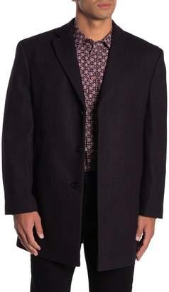 Calvin Klein Proso Notch Lapel Top Coat