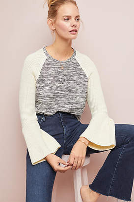 Dolan Left Coast Bell-Sleeved Raglan Top