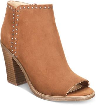 Esprit Natalee Memory Foam Block-Heel Ankle Booties Women's Shoes