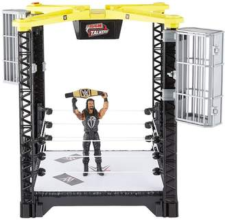 WWE Tough Talkers Take Down Ring & Figure