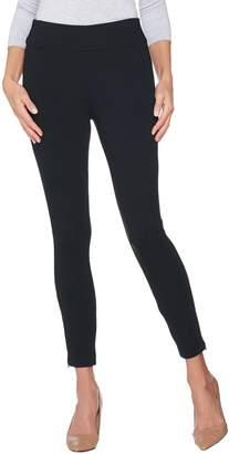Kelly By Clinton Kelly Kelly by Clinton Kelly Regular Ponte Ankle Pants w/ Zipper Detail