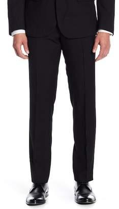 "Paisley & Gray Black Sharkskin Trim Fit Pants - 32\"" Inseam"