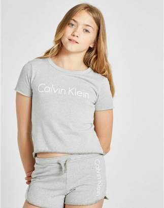 Calvin Klein Girls' Crop Short Sleeve T-Shirt Junior