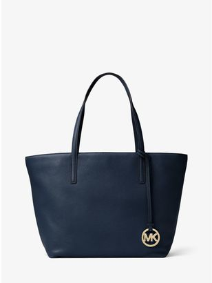 Izzy Large Leather Tote $268 thestylecure.com