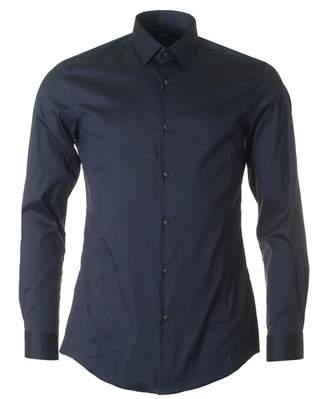 Boss Black Tailoring Ilan Slim Fit Stretch Shirt