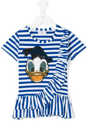 MonnaLisa striped Donald T-shirt