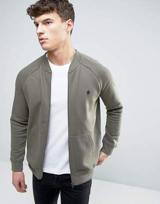 French Connection Zip Through Bomber Jacket