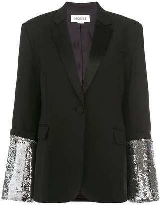 Monse Sequins Embroidered Jacket