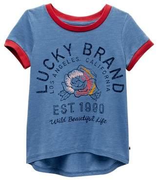 Lucky Brand Easton Tee (Little Girls)