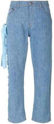 Fendi cropped denim jeans