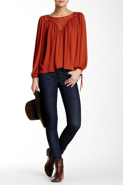 Big StarBig Star Andrea Mid Rise Skinny Jean
