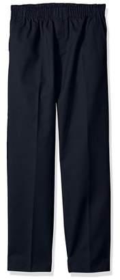 Genuine School Uniform Genuine Uniform Boys Full Elastic Flat Front Pant