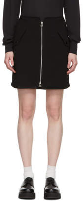 Rag & Bone Black Maverick Miniskirt