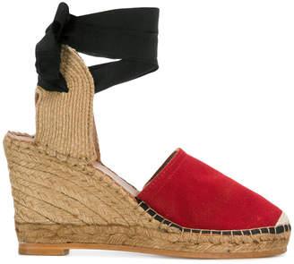 ALEXACHUNG Alexa Chung wedge espadrille sandals