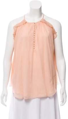 Rachel Zoe Silk Button-Up Blouse w/ Tags