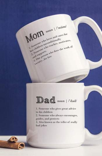 'Mom & Dad' Coffee Mugs